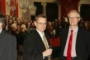 26 Veikko Niemi valittiin uudelle kolmivuotiskaudelle hallitukseen ja Juha Kemppi puheenjohtajaksi vuodelle 2013